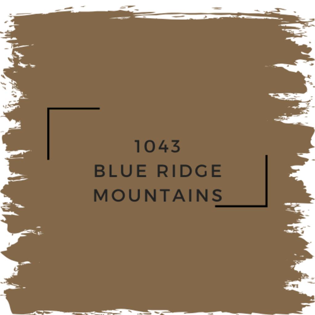 Benjamin Moore 1043 Blue Ridge Mountains