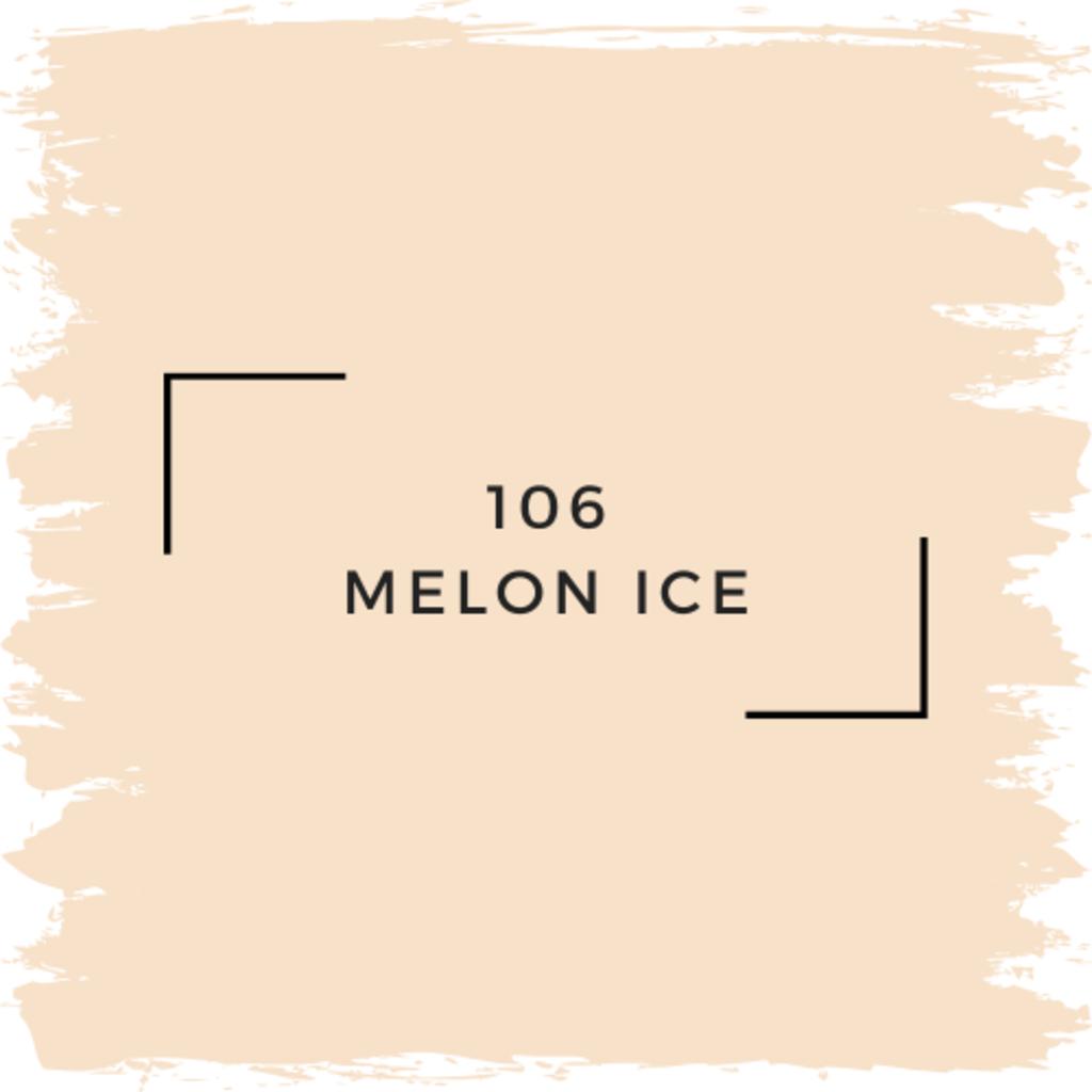 Benjamin Moore 106 Melon Ice
