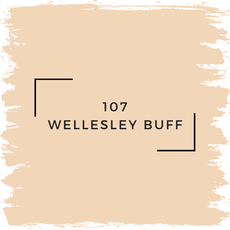 Benjamin Moore 107 Wellesley Buff