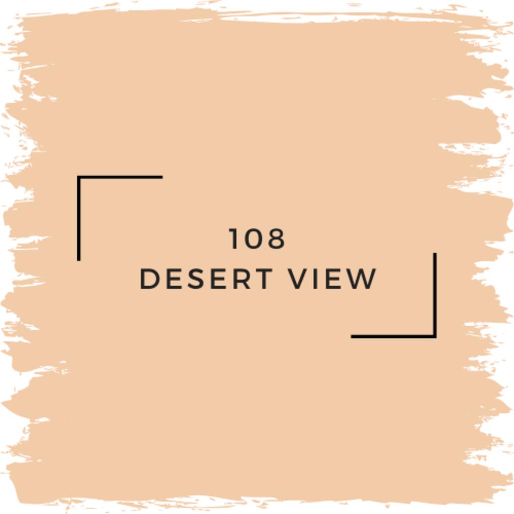 Benjamin Moore 108 Desert View