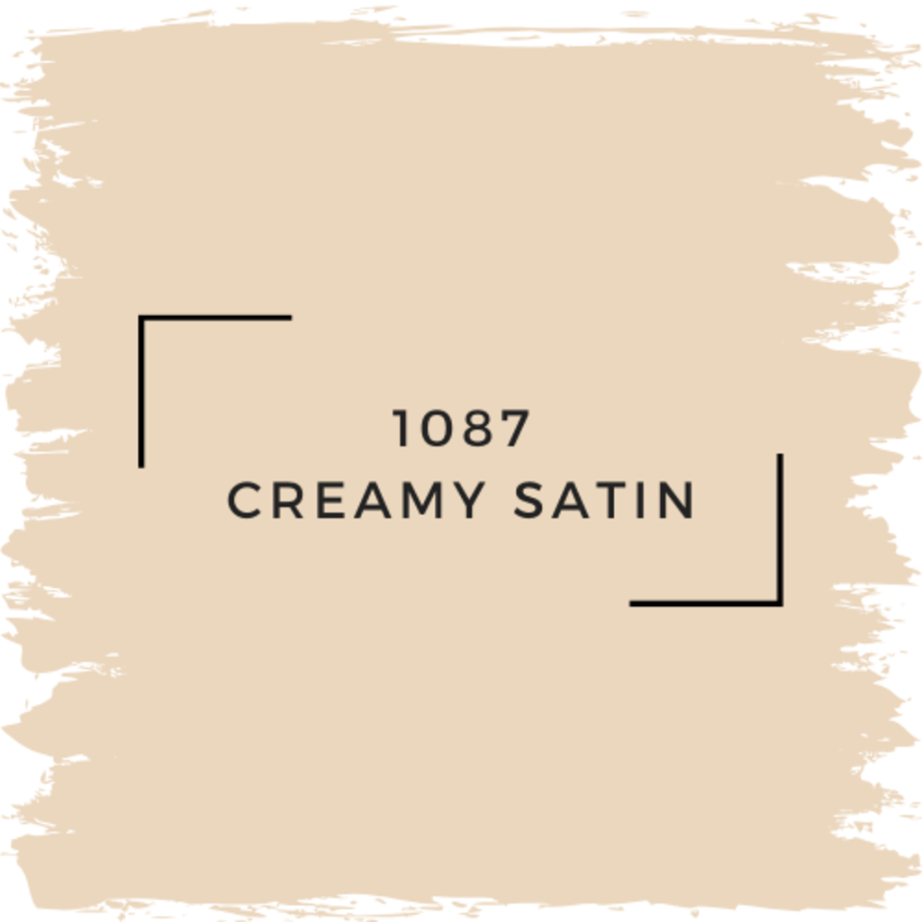 Benjamin Moore 1087 Creamy Satin