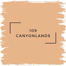 Benjamin Moore 109 Canyonlands