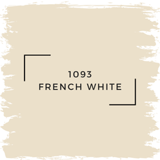Benjamin Moore 1093 French White