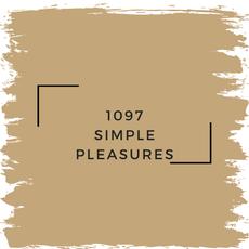 Benjamin Moore 1097 Simple Pleasures