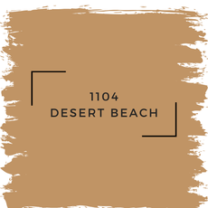 Benjamin Moore 1104 Desert Beach