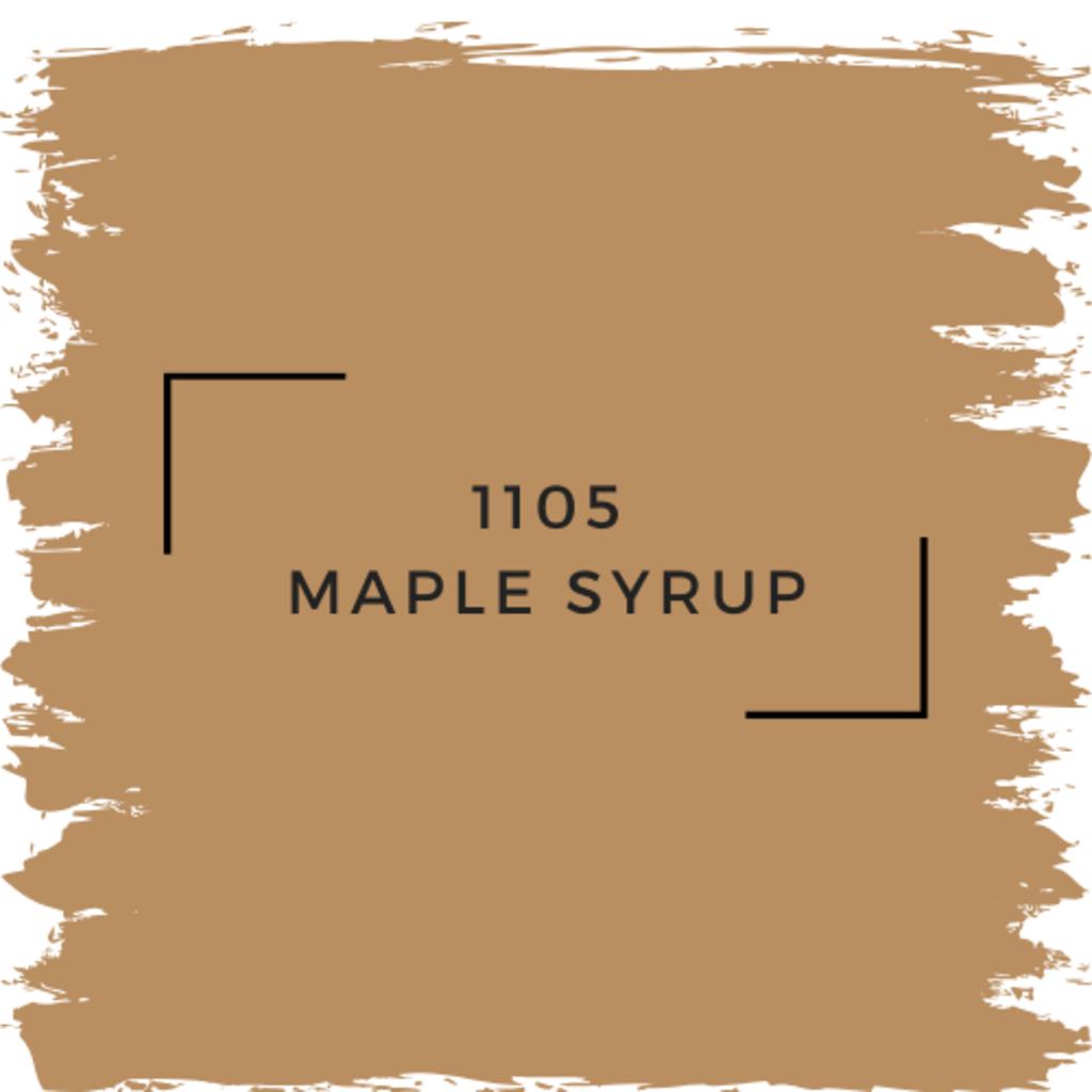 Benjamin Moore 1105 Maple Syrup