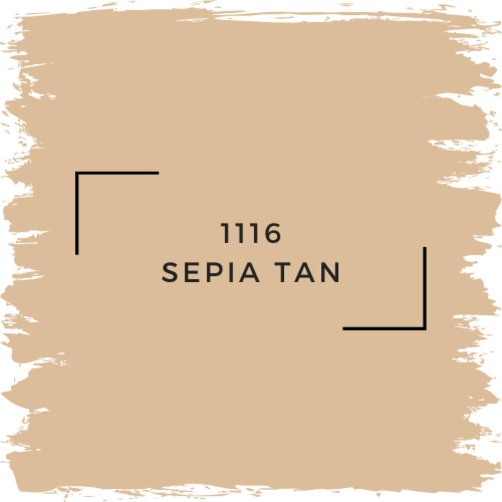 Benjamin Moore 1116 Sepia Tan