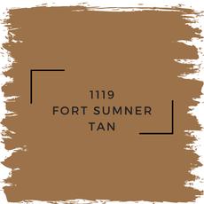 Benjamin Moore 1119 Fort Sumner Tan