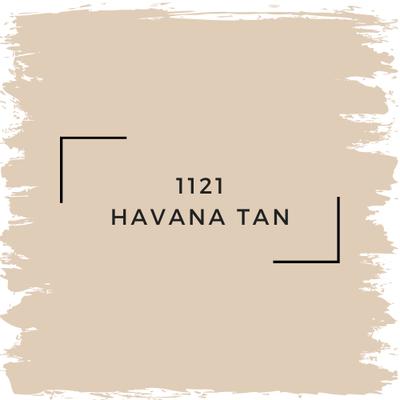 Benjamin Moore 1121 Havana Tan