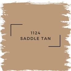 Benjamin Moore 1124 Saddle Tan