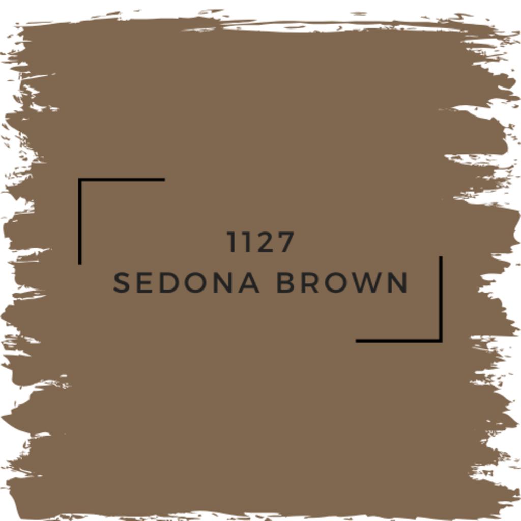 Benjamin Moore 1127 Sedona Brown
