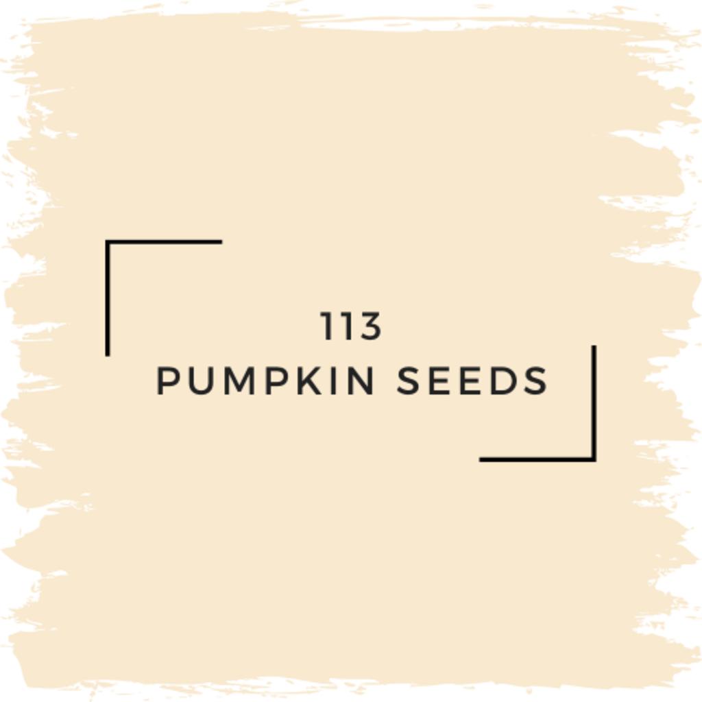 Benjamin Moore 113 Pumpkin Seeds