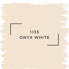 Benjamin Moore 1135 Onyx White