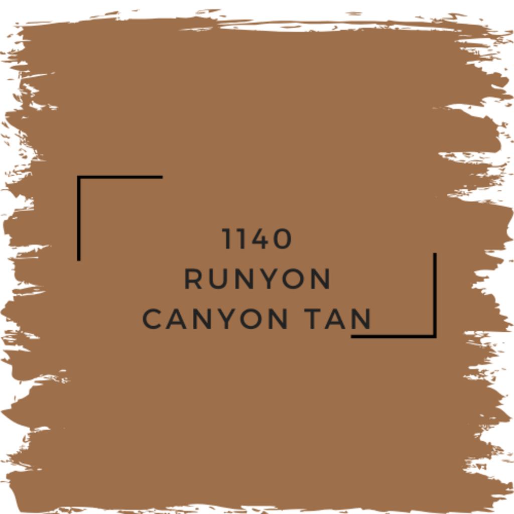 Benjamin Moore 1140 Runyon Canyon Tan