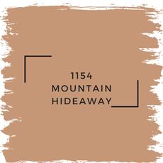 Benjamin Moore 1154 Mountain Hideaway
