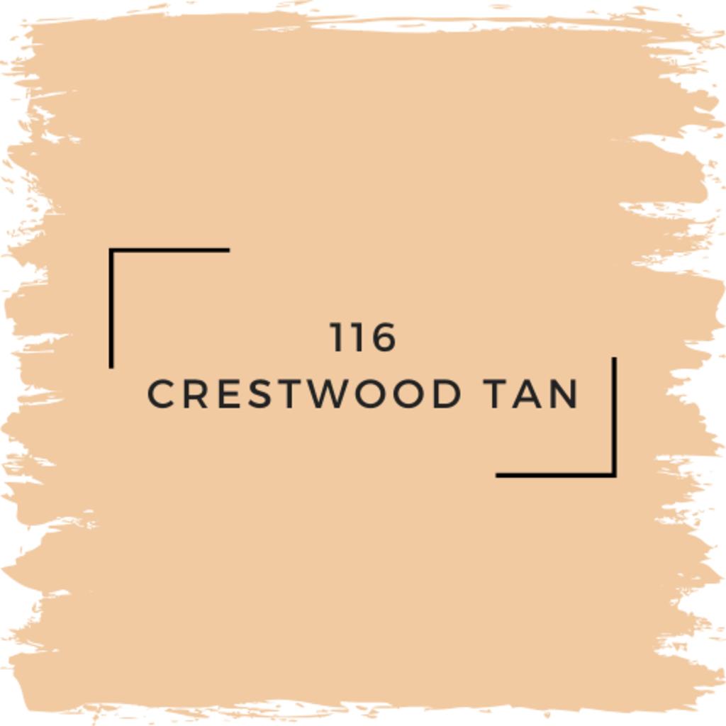 Benjamin Moore 116 Crestwood Tan