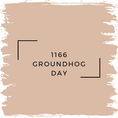Benjamin Moore 1166 Groundhog Day