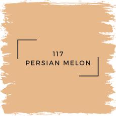 Benjamin Moore 117 Persian Melon