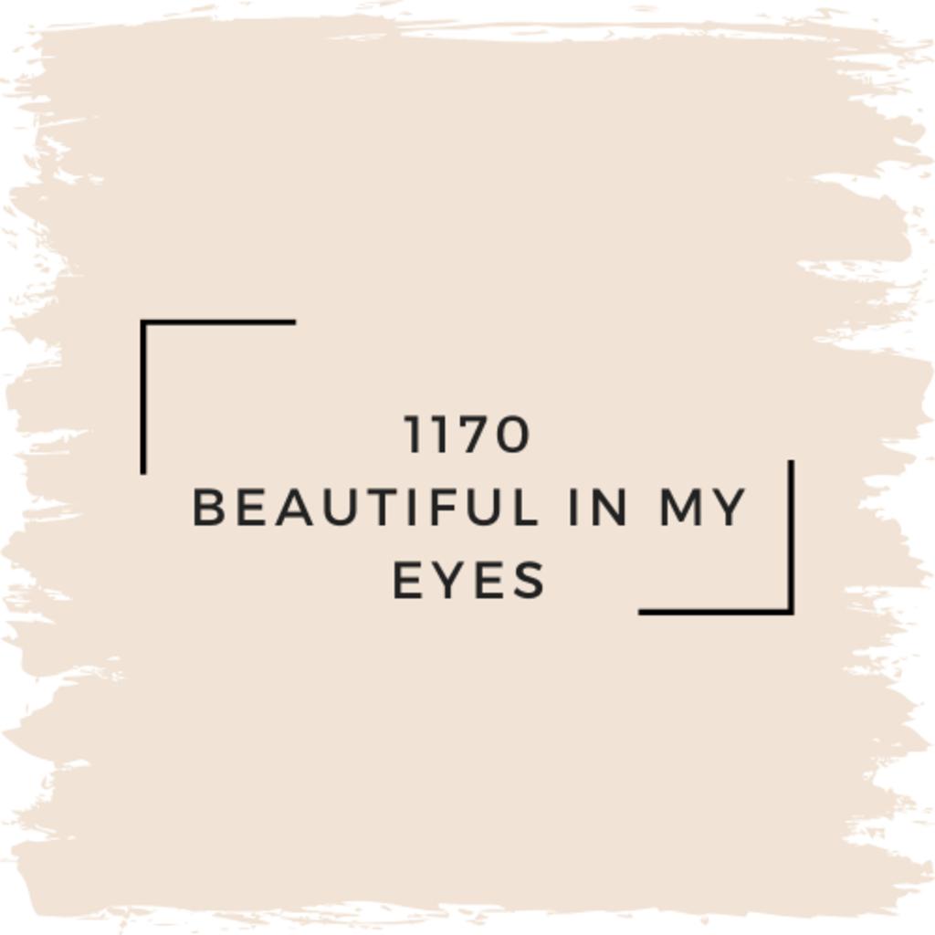Benjamin Moore 1170 Beautiful In My Eyes