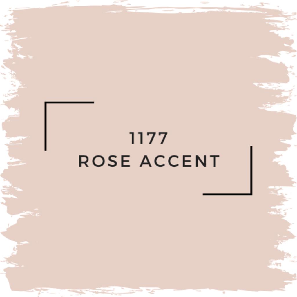 Benjamin Moore 1177 Rose Accent
