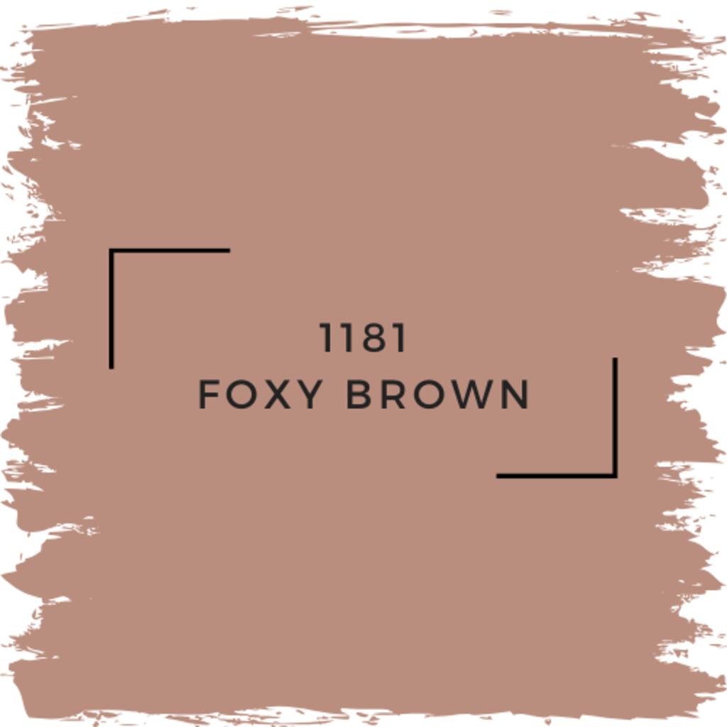 Benjamin Moore 1181 Foxy Brown