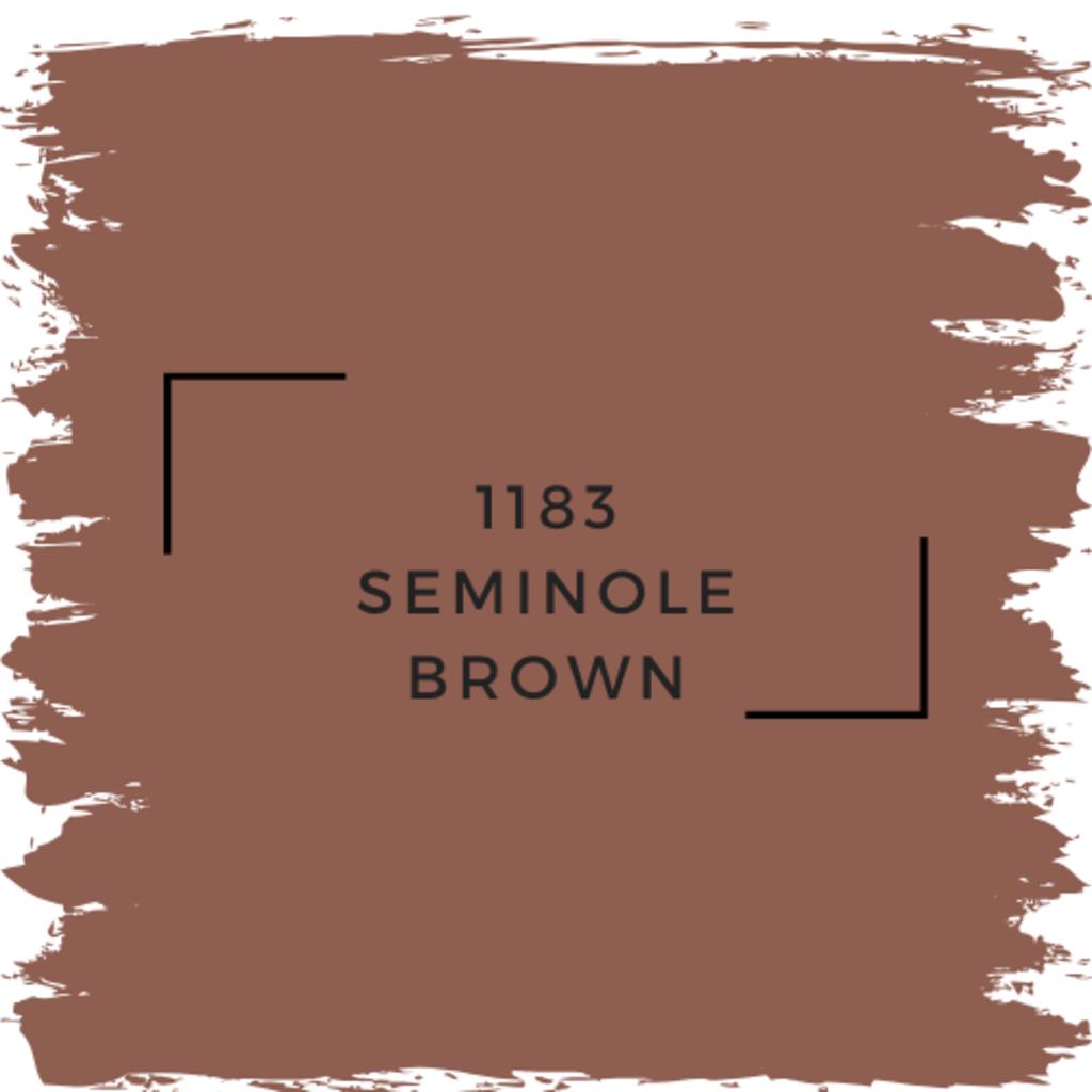 Benjamin Moore 1183 Seminole Brown
