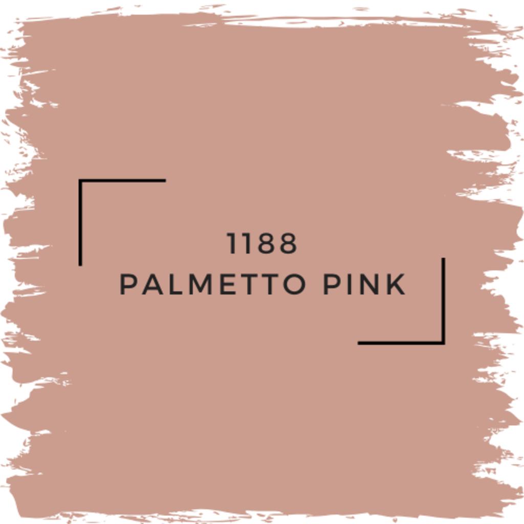Benjamin Moore 1188 Palmetto Pink