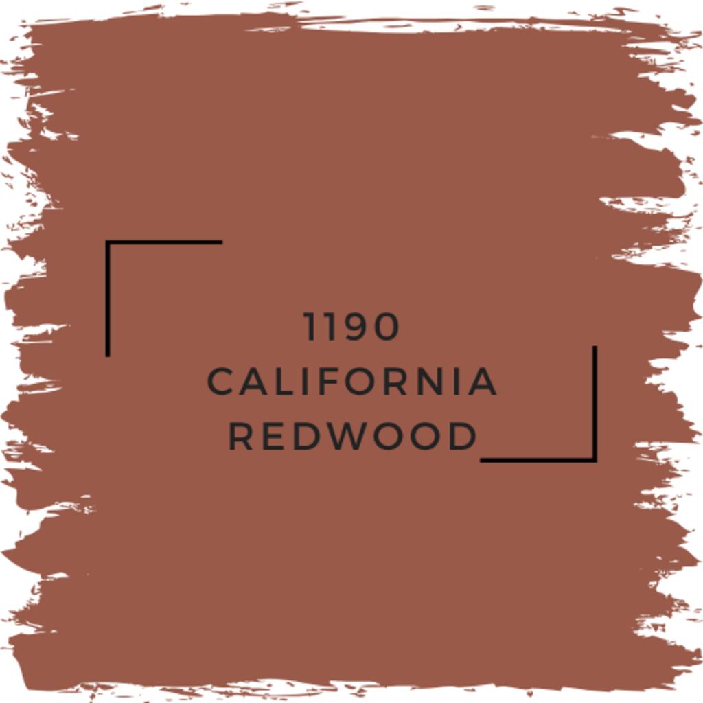 Benjamin Moore 1190 California Redwood