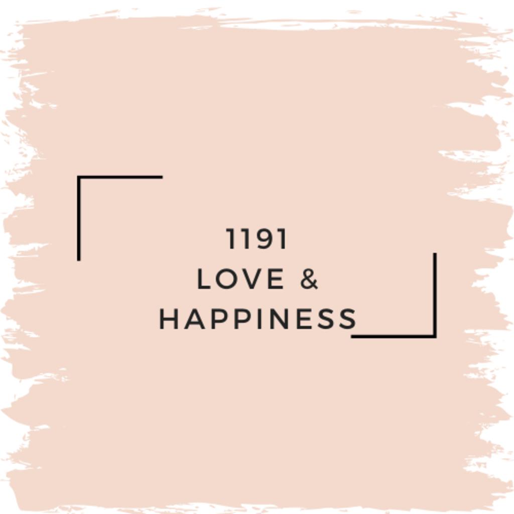 Benjamin Moore 1191 Love & Happiness