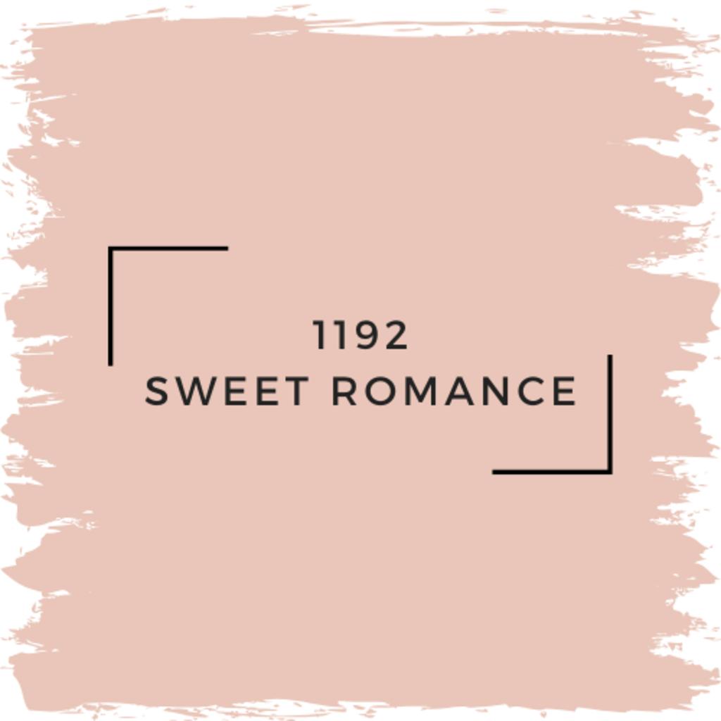 Benjamin Moore 1192 Sweet Romance