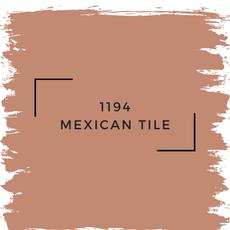 Benjamin Moore 1194 Mexican Tile