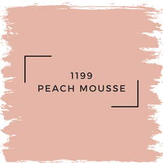 Benjamin Moore 1199 Peach Mousse