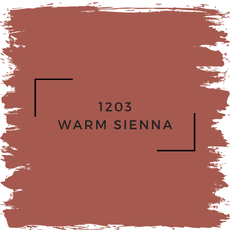 Benjamin Moore 1203 Warm Sienna