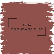 Benjamin Moore 1204 Onondaga Clay