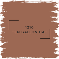 Benjamin Moore 1210 Ten Gallon Hat