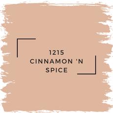 Benjamin Moore 1215 Cinnamon 'N Spice