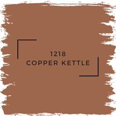Benjamin Moore 1218 Copper Kettle