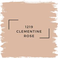 Benjamin Moore 1219 Clementine Rose