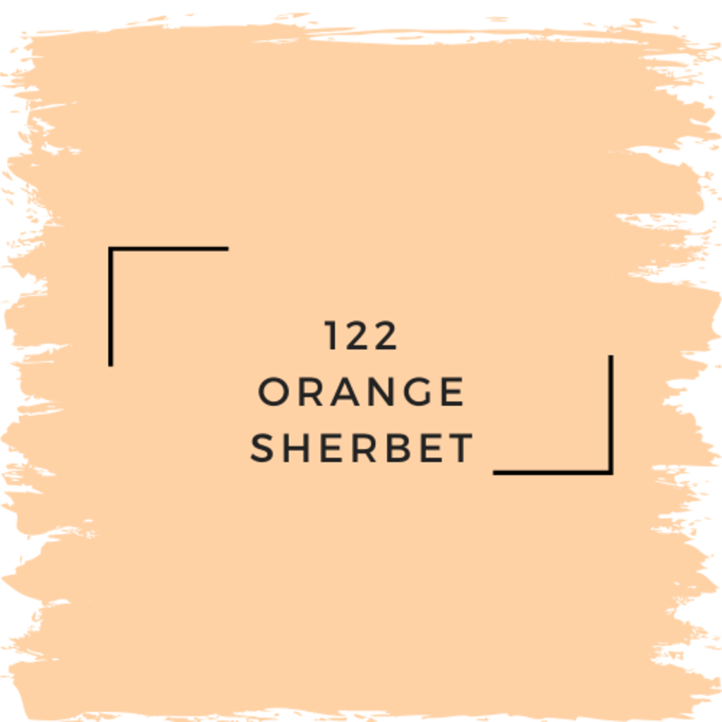Benjamin Moore 122 Orange Sherbet