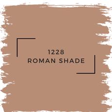 Benjamin Moore 1228 Roman Shade