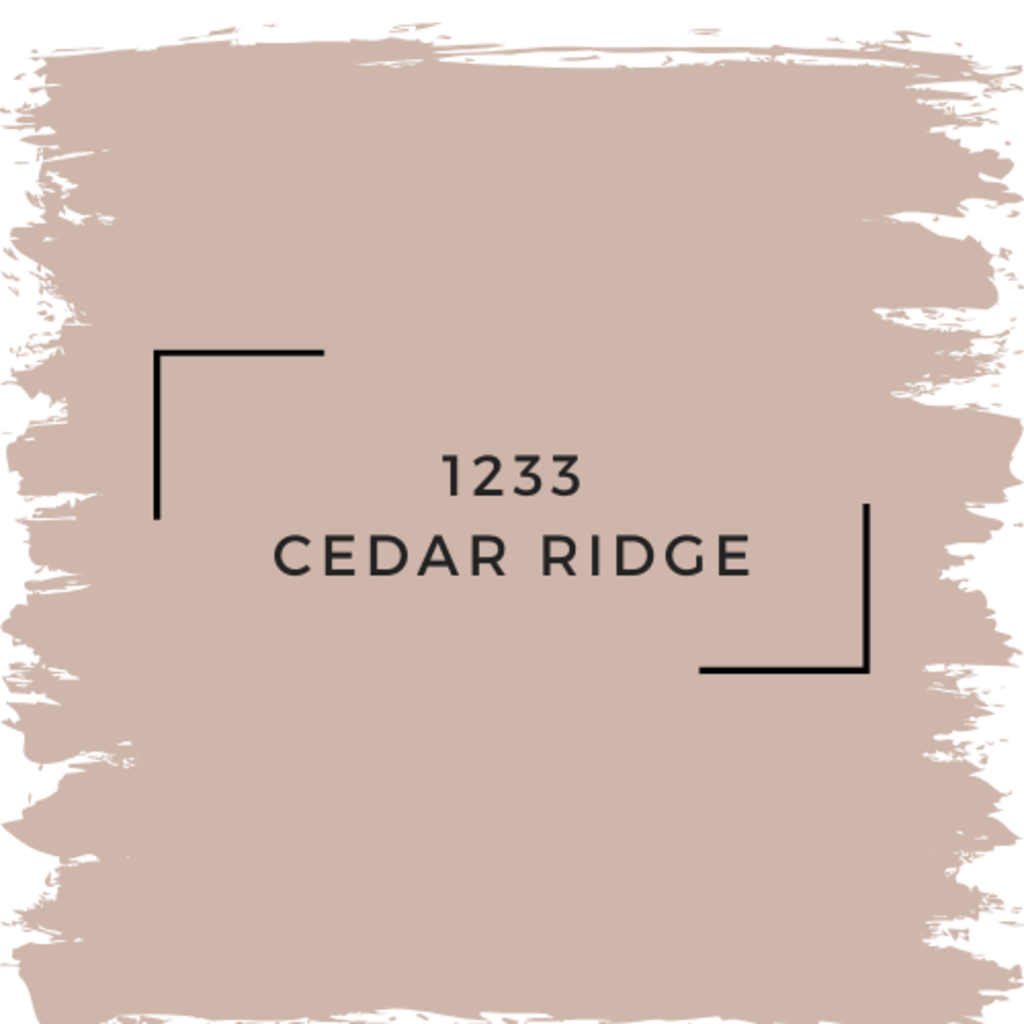 Benjamin Moore 1233 Cedar Ridge