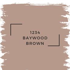 Benjamin Moore 1234 Baywood Brown