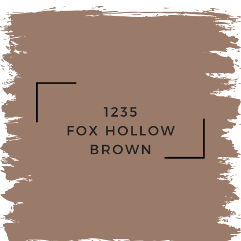 Benjamin Moore 1235 Fox Hollow Brown