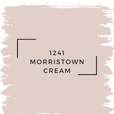 Benjamin Moore 1241 Morristown Cream