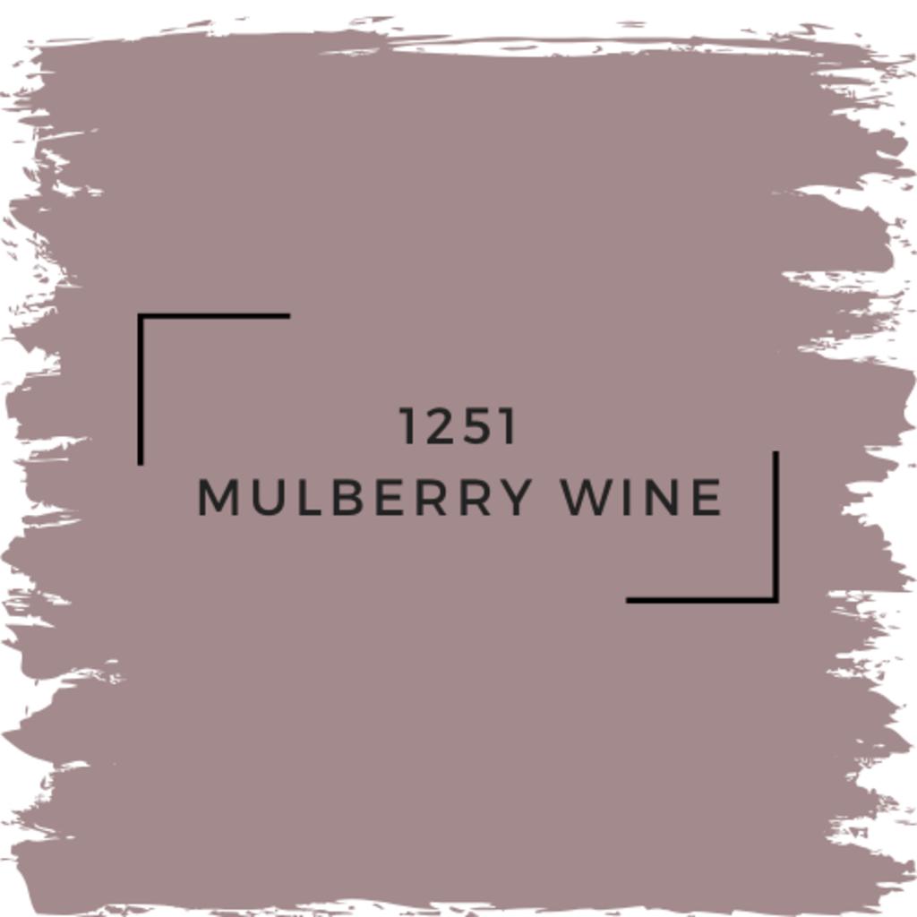 Benjamin Moore 1251 Mulberry Wine