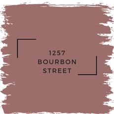 Benjamin Moore 1257 Bourbon Street