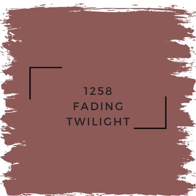 Benjamin Moore 1258 Fading Twilight