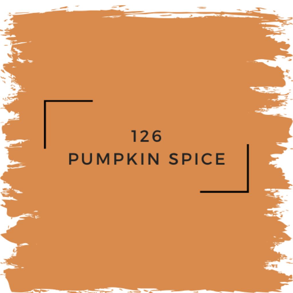 Benjamin Moore 126 Pumpkin Spice