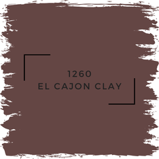 Benjamin Moore 1260 El Cajon Clay