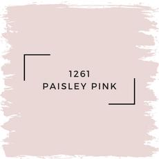 Benjamin Moore 1261 Paisley Pink